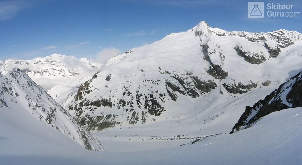La Ruinette Walliser Alpen / Alpes valaisannes Schweiz foto 01