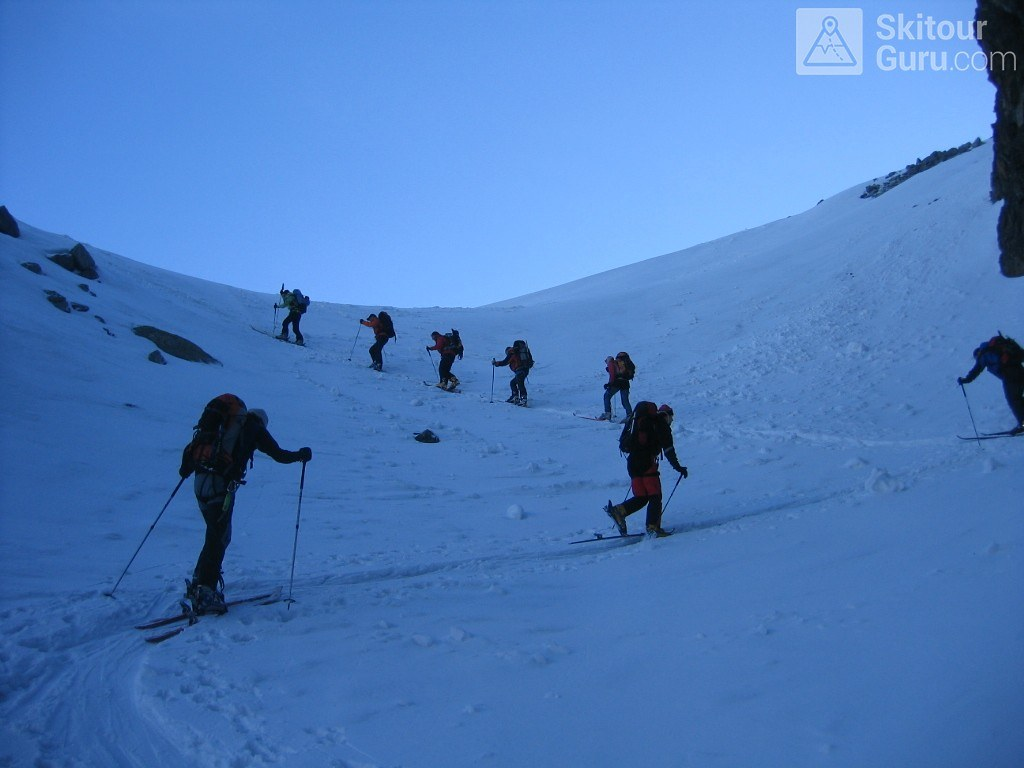 La Ruinette Walliser Alpen / Alpes valaisannes Schweiz foto 09