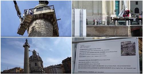 ROMA ARCHEOLOGICA & RESTAURO ARCHITETTURA 2020. La Colonna Traiana & Foro di Traiano 360 | I grandi restauri del Parco archeologico del Colosseo. ParCo / Video / Facebook (12/05/2020). Dal video alle fotografie 1 di 36, M. G. Conde (02/09/2020).