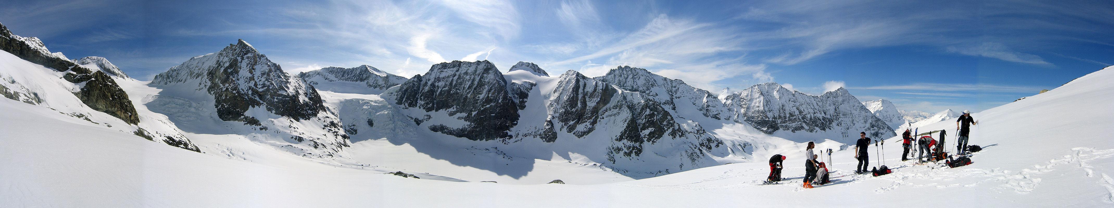 La Ruinette Walliser Alpen / Alpes valaisannes Switzerland panorama 25