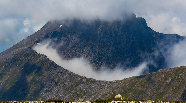 """Ben Nevis -the Gaelic name """"Nevis' is very accurate"""