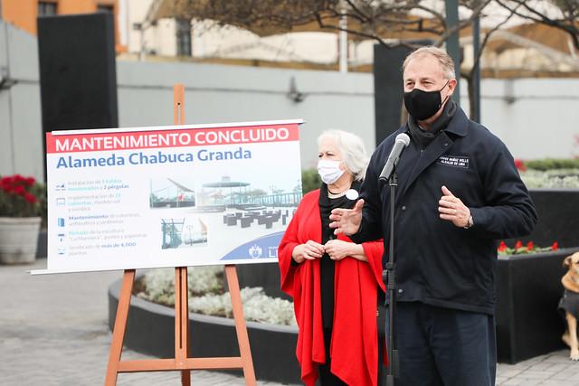 020920 Alcalde Jorge Muñoz presenta renovación de alameda Chabuca Granda 003