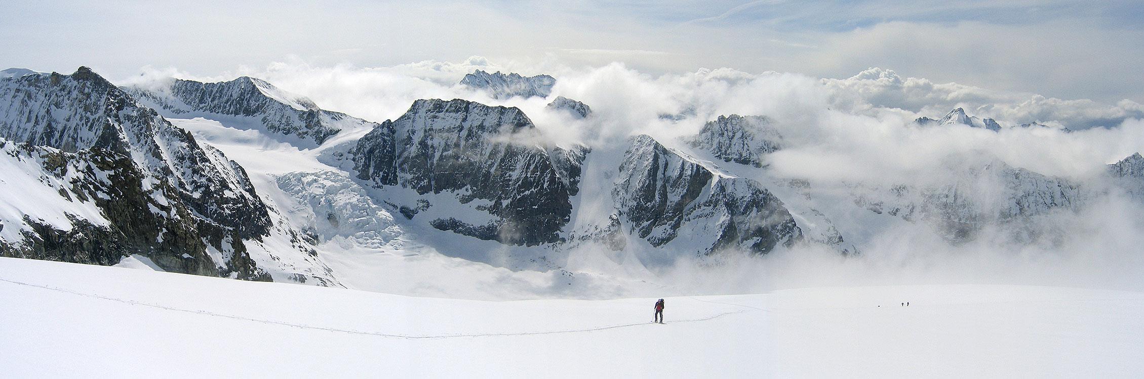 La Ruinette Walliser Alpen / Alpes valaisannes Švýcarsko panorama 37