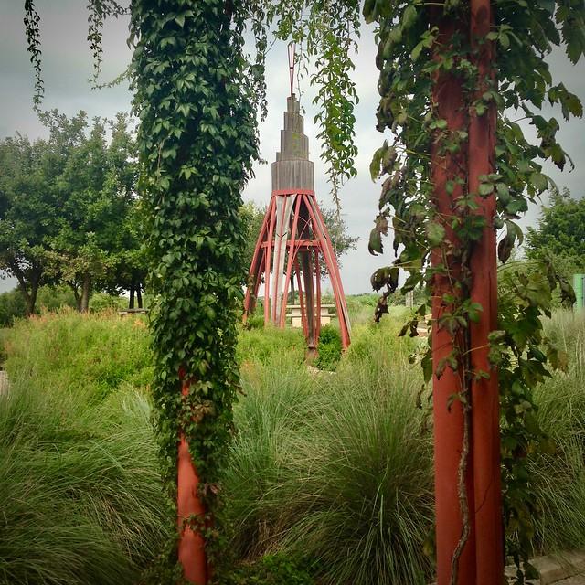 Wigwam and Pollen Grain by Chris Levack, September 2, 2016 (Explored)