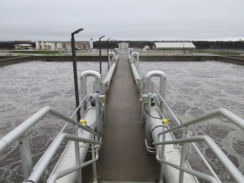 NTMWD Panther Creek Wastewater Treatment Plant #wastewater