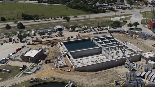 NTMWD Water Operation - WylieWTP_Plant 1 construction #water