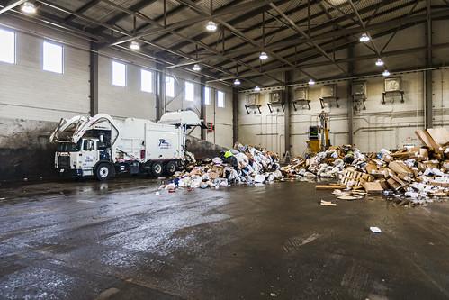 NTMWD Soild Waste Lookout Drive Transfer Station #solidwaste