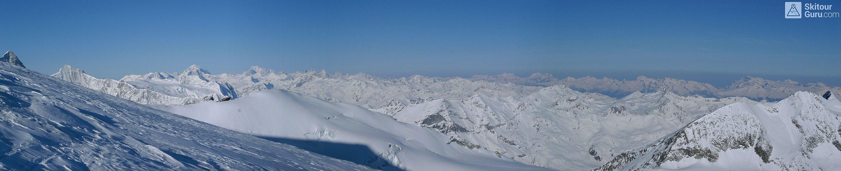 Bishorn Walliser Alpen / Alpes valaisannes Switzerland panorama 18
