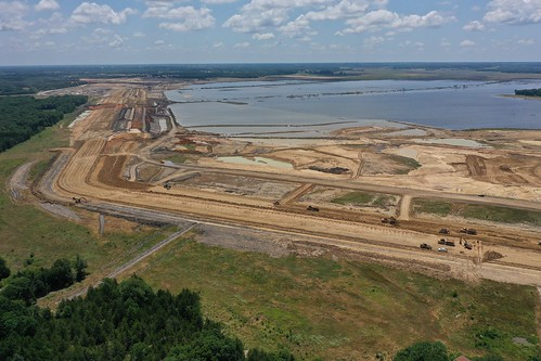 Bois d'Arc Lake Overall Dam Site
