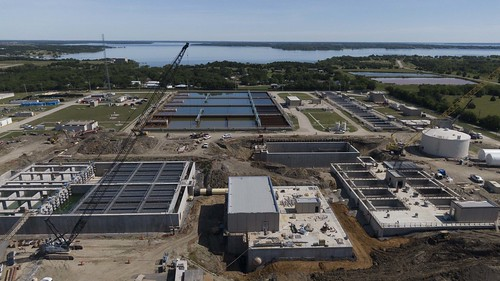 NTMWD Water Operation - WylieWTP_Plant 4 construction #water