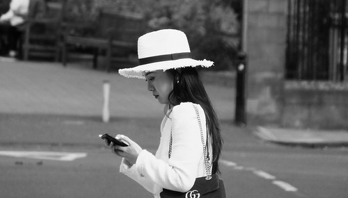Elegant Lady in a Hat