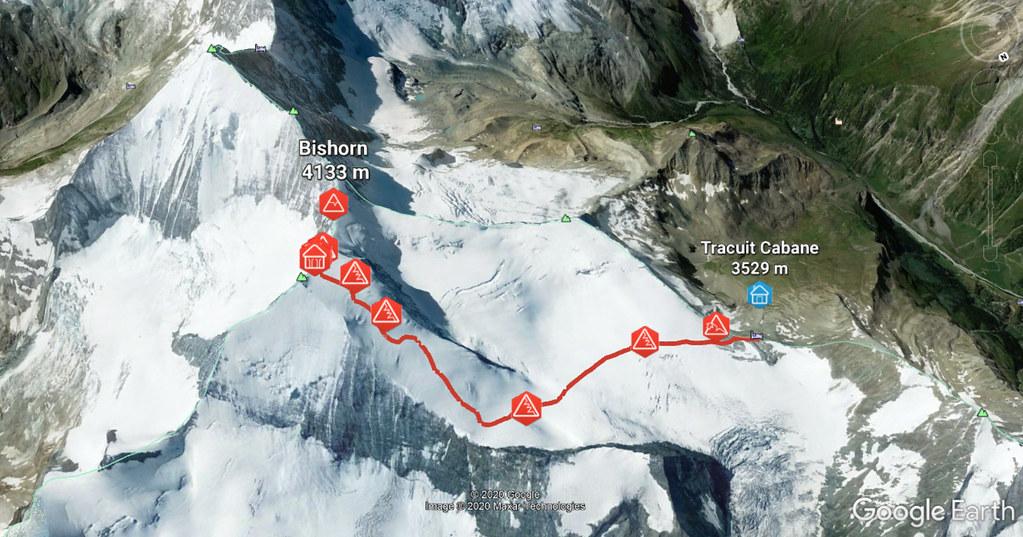 Bishorn Walliser Alpen / Alpes valaisannes Switzerland photo 03