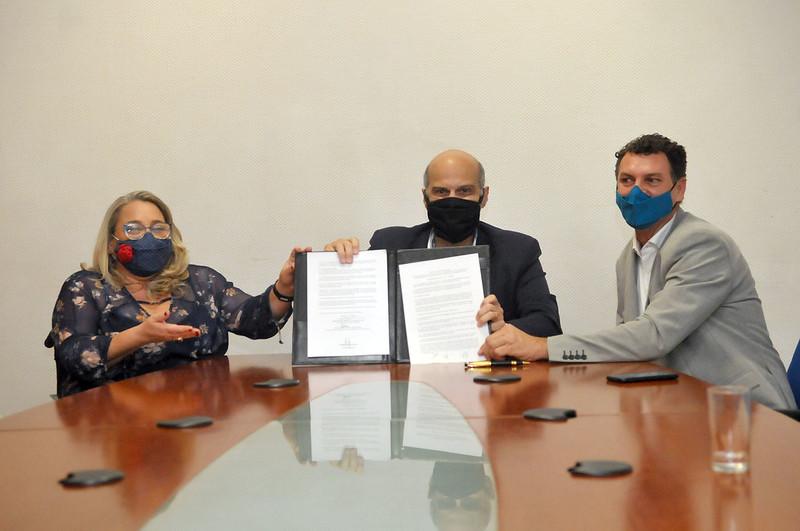 Assinatura da Portaria Conjunta com a Secretaria da Pessoa Com Deficiência