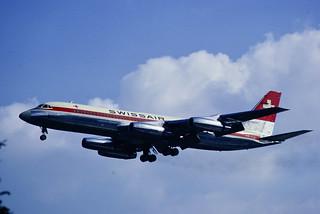 CV-990 Swissair HB-ICG FRA