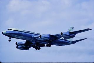 CV-990 Lebanese International Airways OD-AEW FRA