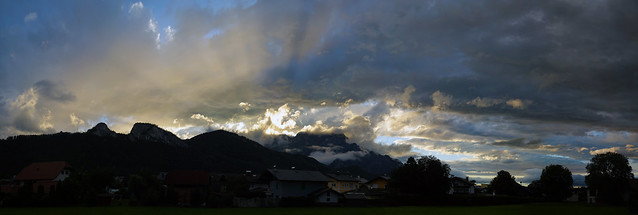 Sky over Oberalm _Panorama 18_132 Mpx