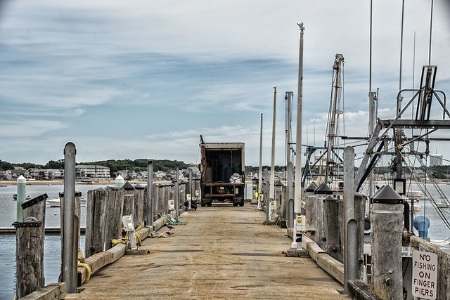 Pier and Fishing Boats