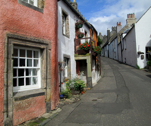 Culross street, Fife, Scotland