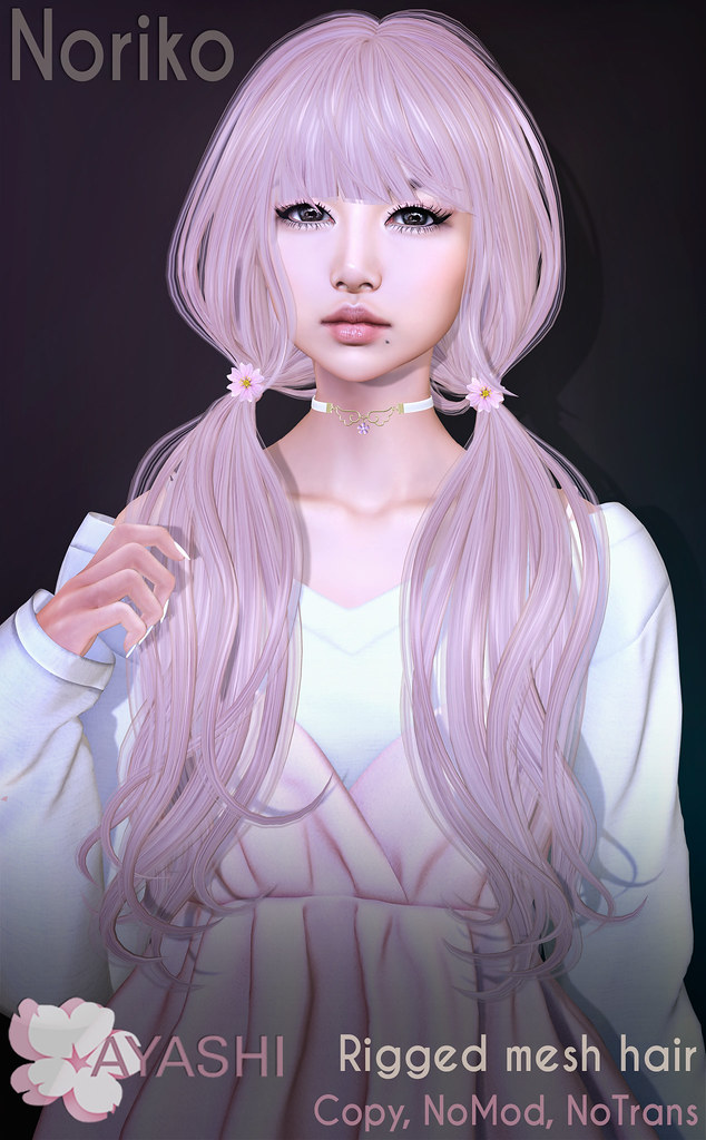 [^.^Ayashi^.^] Noriko hair special for FaMESHed
