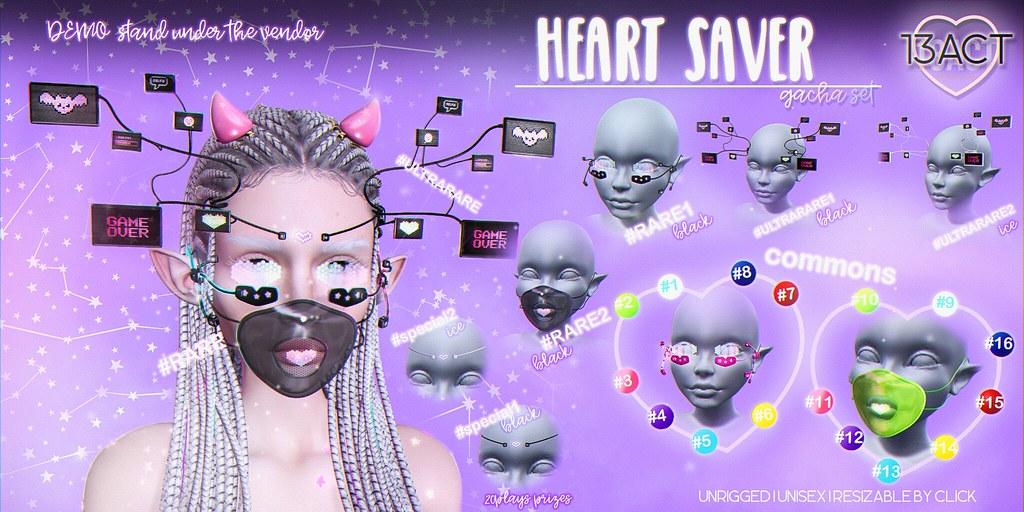 !13ACT - Heart Saver