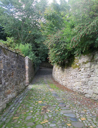 Culross lane, Fife, Scotland