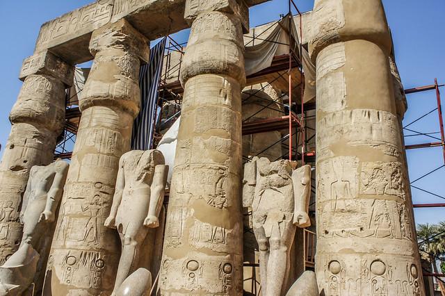 Inside Egypt's Luxor temple