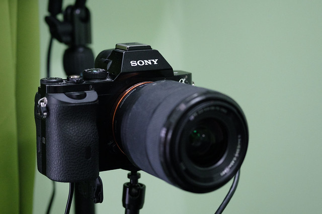 Sony A7 as a web cam