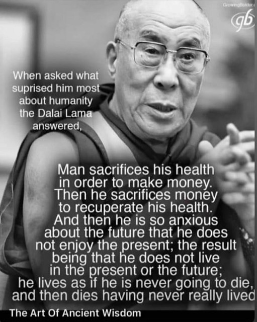Wise words from a very wise man