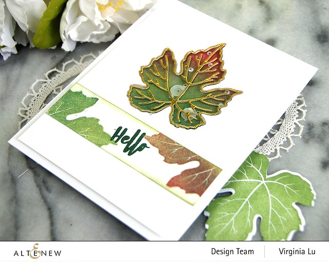 09-12-2020-Grape Leaves Stamp Set-Mixed Media Pigment Ink-001
