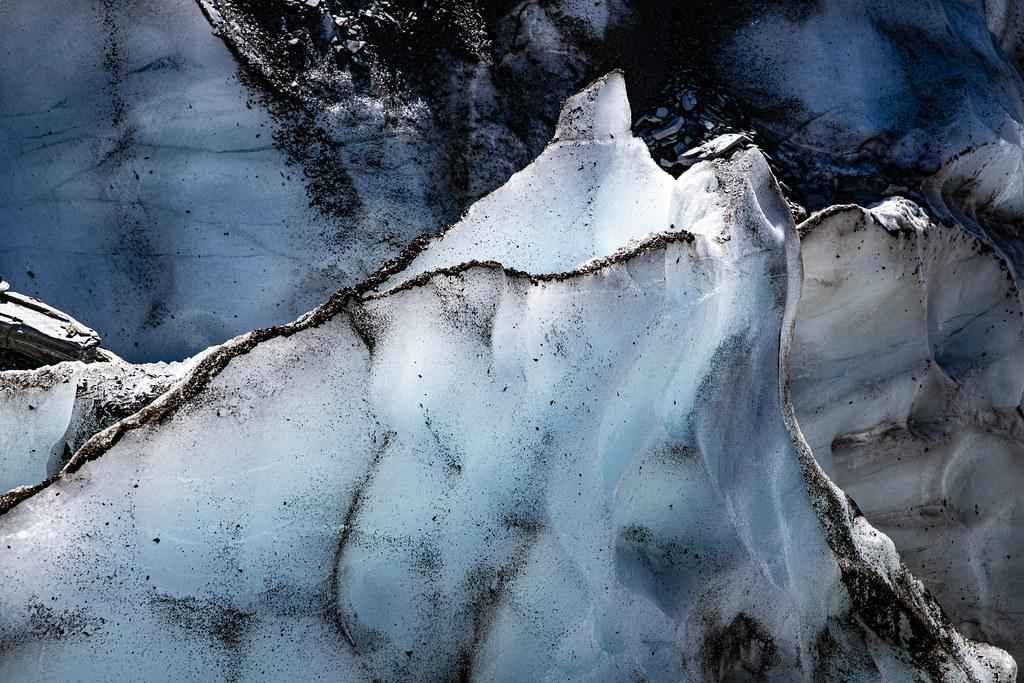 Details of Glacier Ice