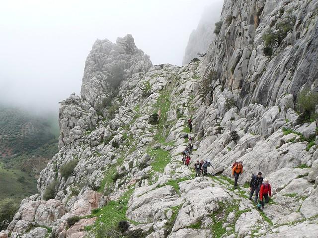 Ascenso al Gomer. 2012
