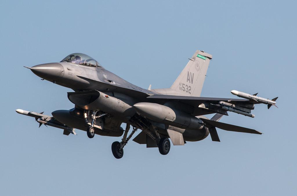 General Dynamics F-16C Fighting Falcon - United States Air Force - 88-0532 / AV