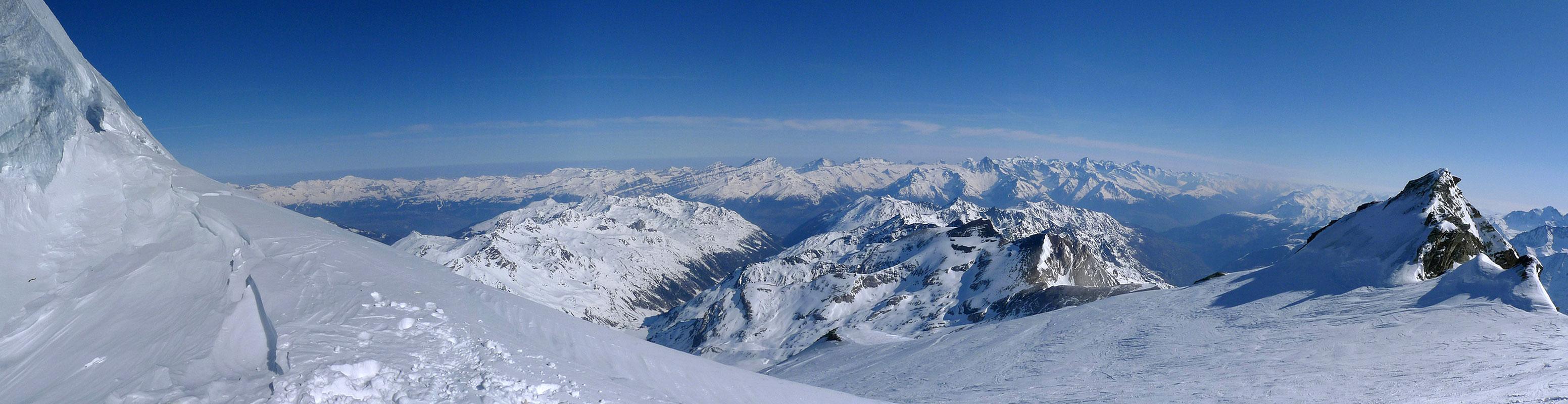 Bishorn Walliser Alpen / Alpes valaisannes Switzerland panorama 48