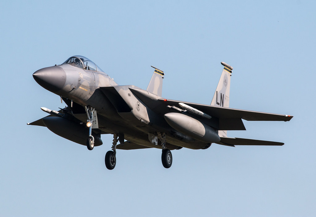 McDonnell Douglas F-15C - United States Air Force - 86-0154 / LN