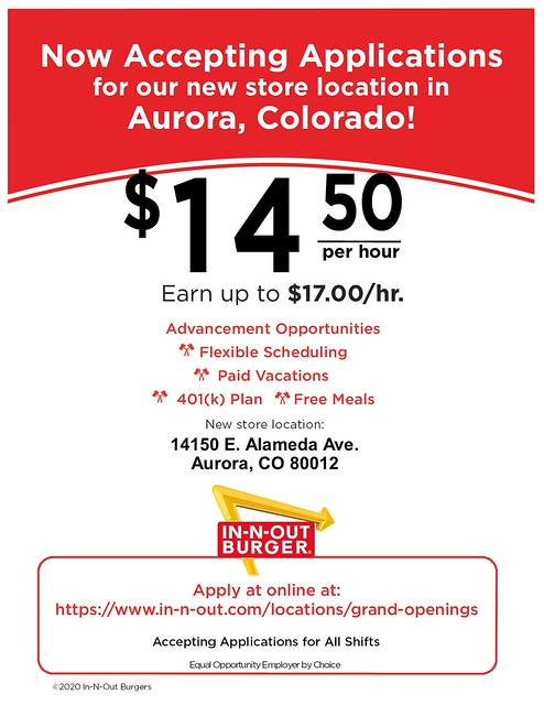 CL- Aurora, CO - 09-2020 - Now Accepting Applications