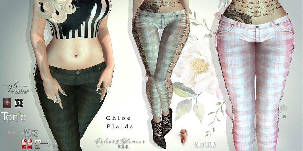 Chloe-Plaids-Poster
