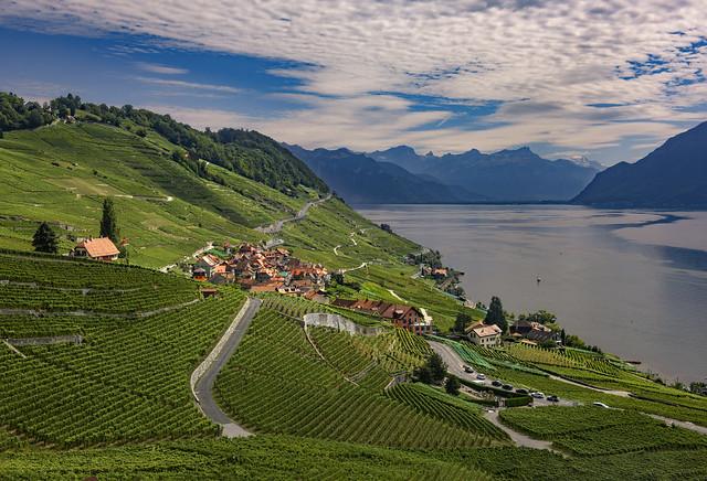 The village of Épesses ; Canton of Vaud. Switzerland.Izakigur     No 36, 27.08.20, 13:50:08.