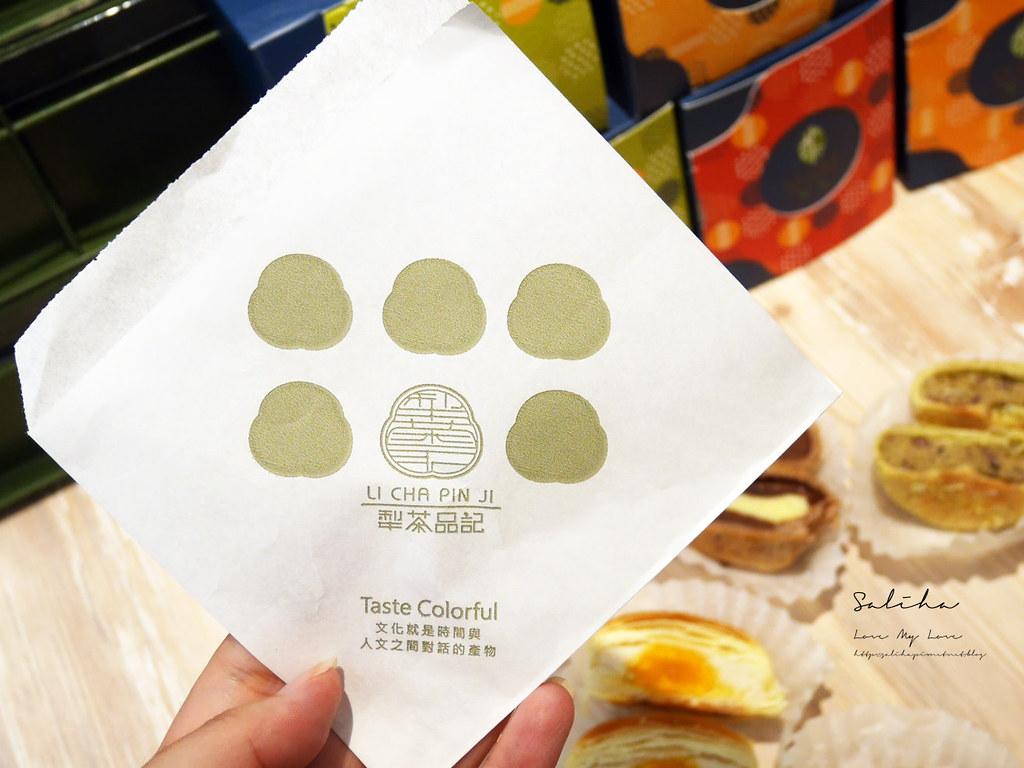 台北車站伴手禮店推薦好吃必買不會很甜犁茶品記綠豆椪糕點月餅太陽餅鳳梨酥 (1)