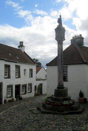 Culross Mercat Cross, Fife, Scotland