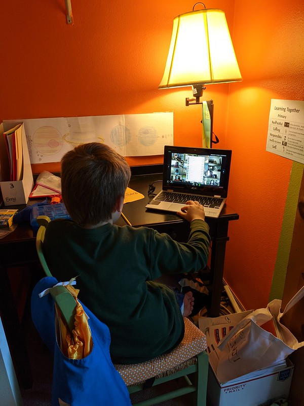 First Day of School 2020 - Remote learning