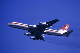 CV-990 Balair HB-ICH ZRH 1969