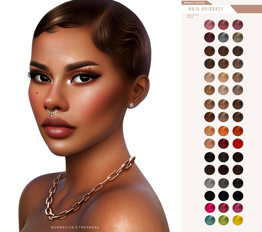 NEW RELEASE + GIVEAWAY – 'NAJA' HAIRBASE @LEVEL EVENT