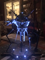 Providence gundam + LED lit base