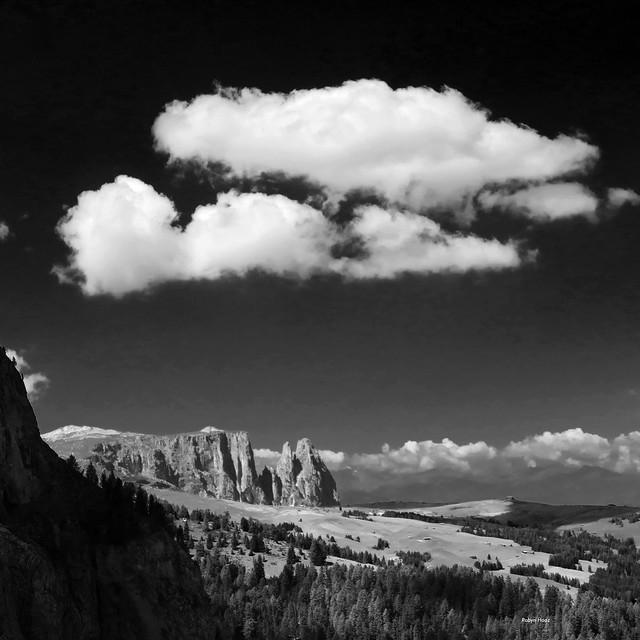 Clouds over Sciliar