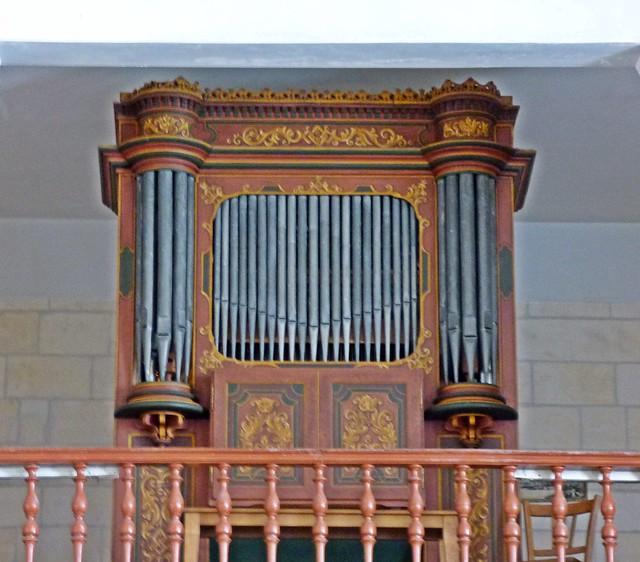 Orgue, Église Saint-Pierre...Moëze