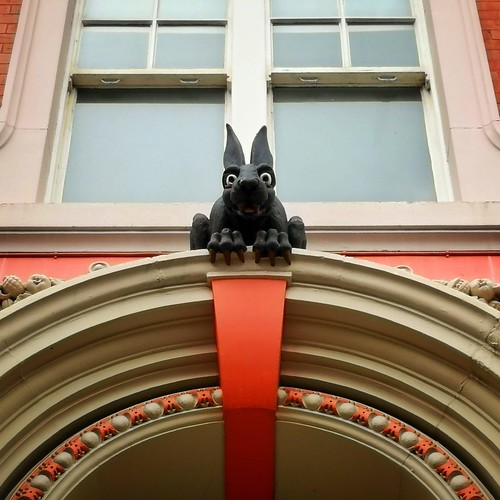 An image of the Vampire Rabbit in Newcastle upon Tyne.
