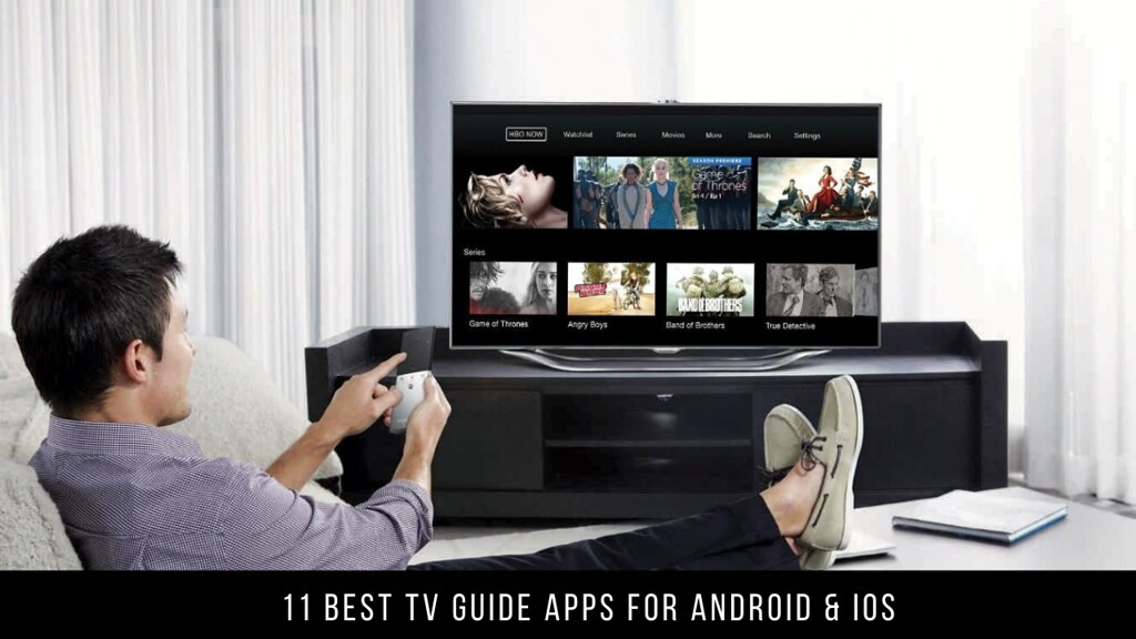 11 Best TV Guide Apps For Android & iOS