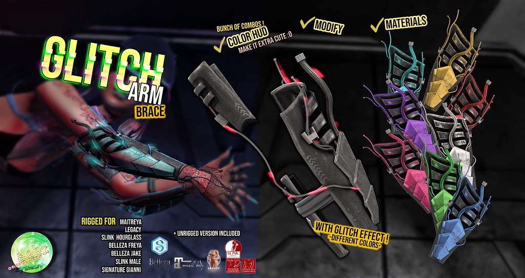SEKA's Glitch Arm Brace @CYBER Fair