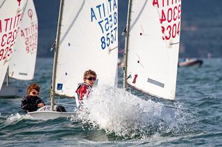 Campionato Italiano Optimist - Fraglia Vela Malcesine - Angela Trawoeger_K3I3516