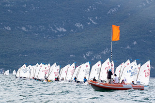 Campionato Italiano Optimist - Fraglia Vela Malcesine - Angela Trawoeger_K3I3465